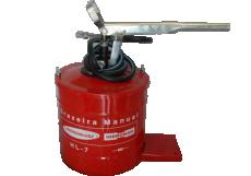 BOMBA DE GRAXA MANUAL HL- 7 KG HIDROMAR