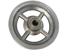 Roda de Aluminio com Rolamento