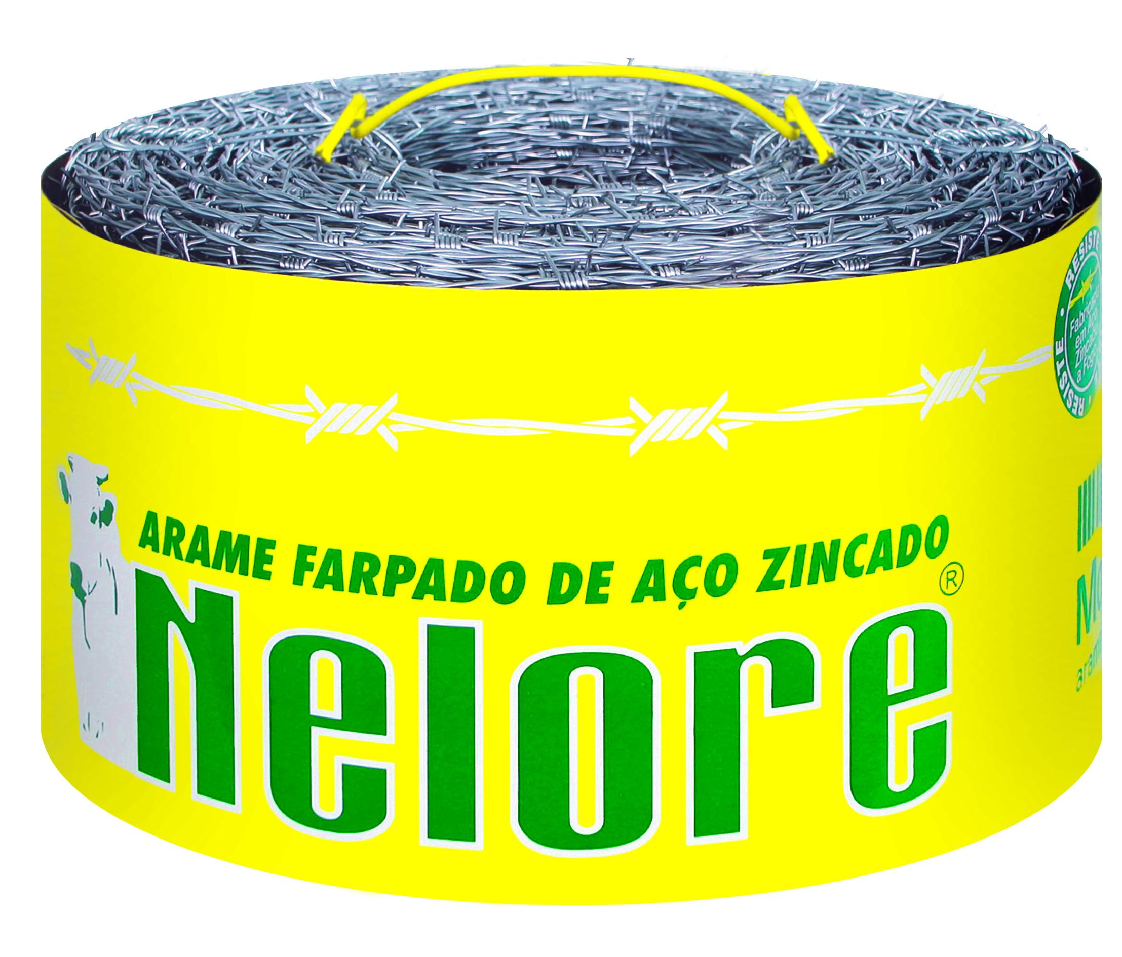 ARAME FARPADO NELORE 500 MT     MORLAN